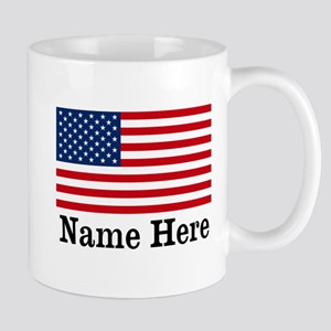 Personalized American Flag Mug